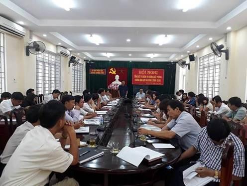 Hương khê: Kỷ niệm 70 năm ngày truyền thống ngành kiểm tra Đảng
