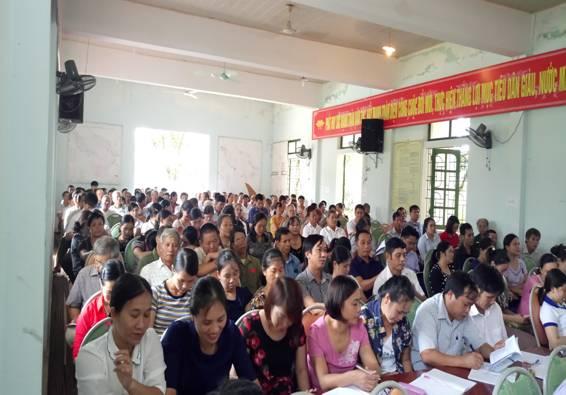 Xã Phúc Đồng, Học tập, triển khai Nghị quyết Trung ương 7 và các nghị quyết của Tỉnh ủy.