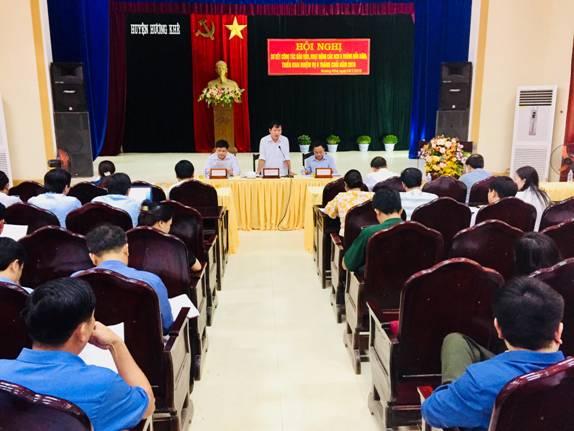 Đảng bộ huyện Hương Khê tổ chức thành công vòng sơ khảo Hội thi cán bộ kiểm tra cơ sở giỏi năm 2018
