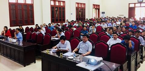 Hội nghị Báo cáo viên tháng 7. Tập huấn công tác tuyên giáo năm 2018