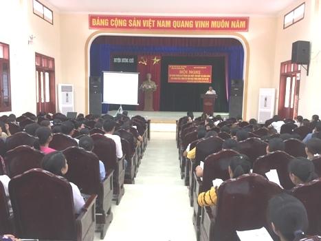 Hương Khê: 260 người tập huấn kỷ năng can thiệp tại cộng đồng
