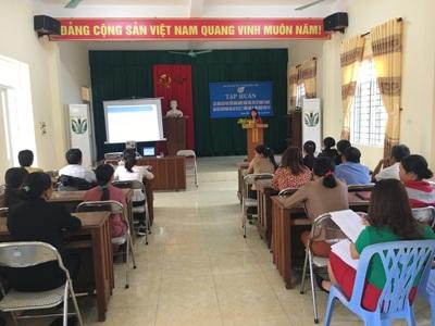 Phụ nữ Hương Khê: 50 hội viên xây dựng mô hình kinh tế mới được tập huấn sản xuất kinh doanh