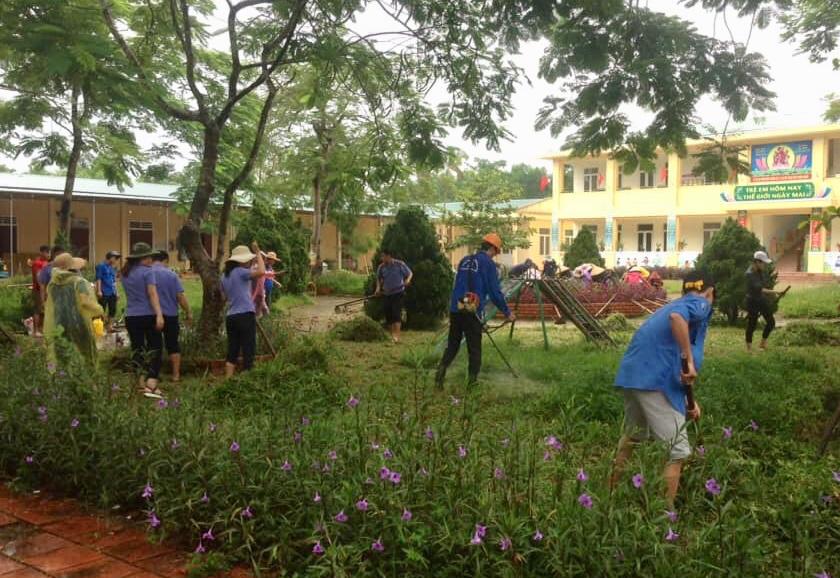 Tuổi trẻ Hương Khê hưởng ứng kỷ niệm 20 năm chiến dịch TNTN hè