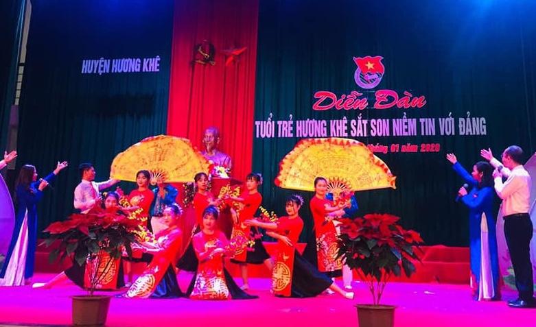 Tuổi trẻ Hương Khê tô thắm Truyền thống vẻ vang của Đảng