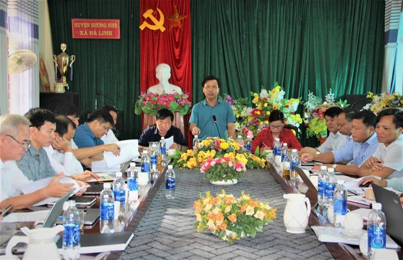Hà Linh cần tăng cường công tác xây dựng đảng, củng cố bộ máy chính quyền vững mạnh