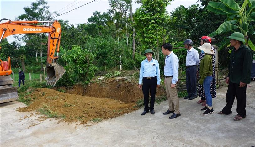 Hương Thủy: Tập tung xây dựng thôn 5 đạt Khu dân cư kiểu mẫu trong năm nay.
