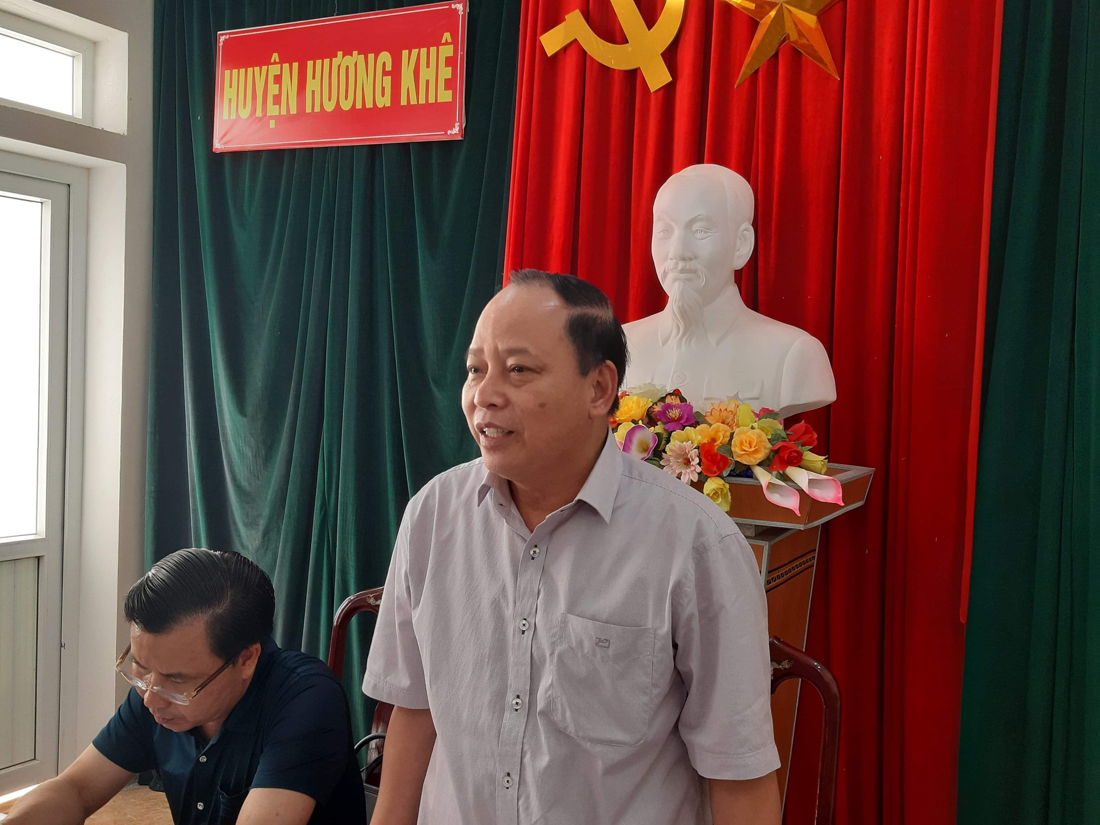 19 vụ việc với 12 lượt người đăng ký tại phiên tiếp dân thường kỳ tháng 10 của lãnh đạo Hương Khê