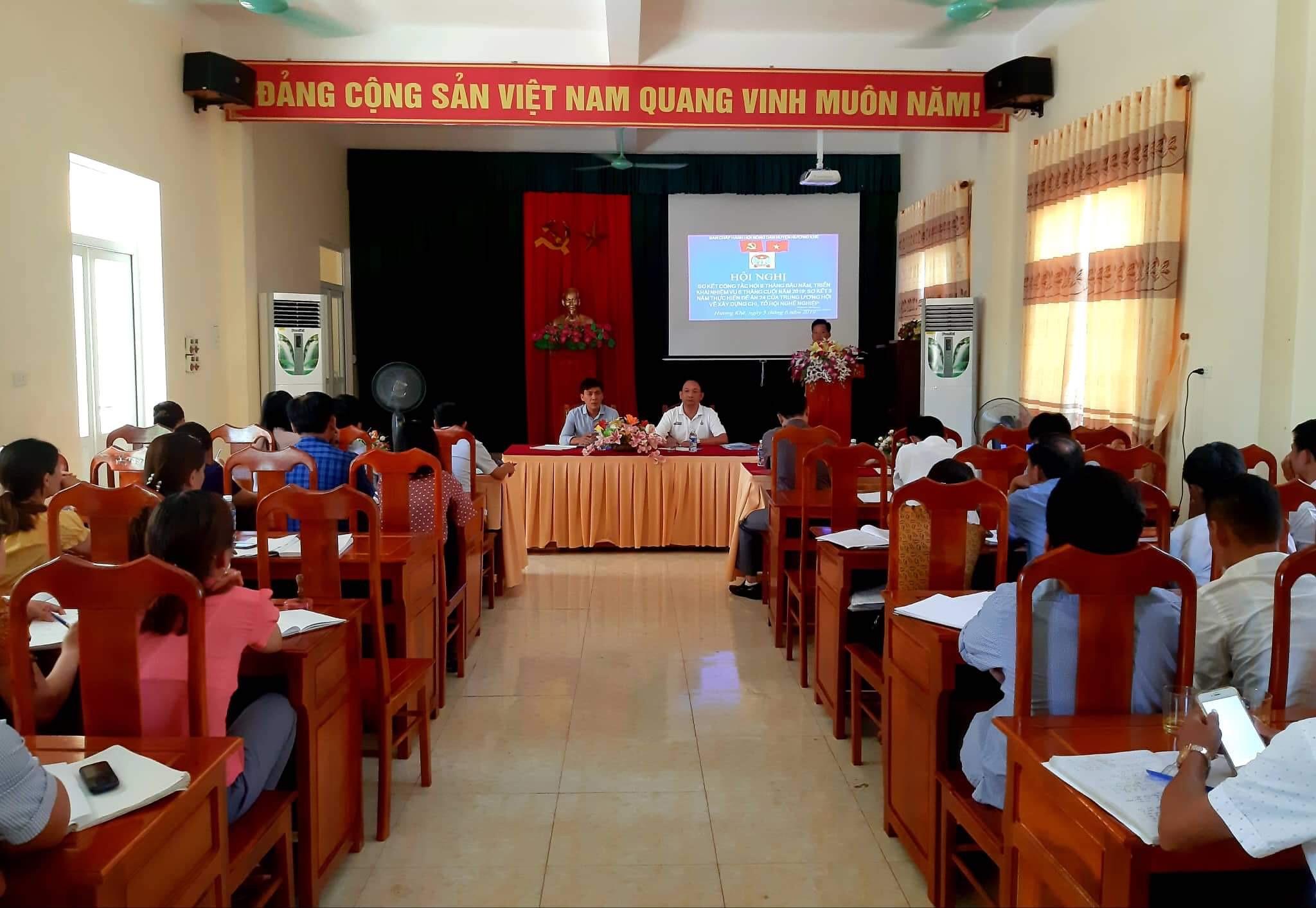 Hội Nông dân huyện Hương Khê Chỉ đạo xây dựng mới 50 mô hình trồng trọt, chăn nuôi.