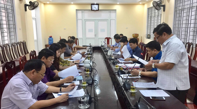 Công ty TNHH MTV năng lượng An Việt Phát làm việc với huyện để tìm hiểu cơ hội đầu tư