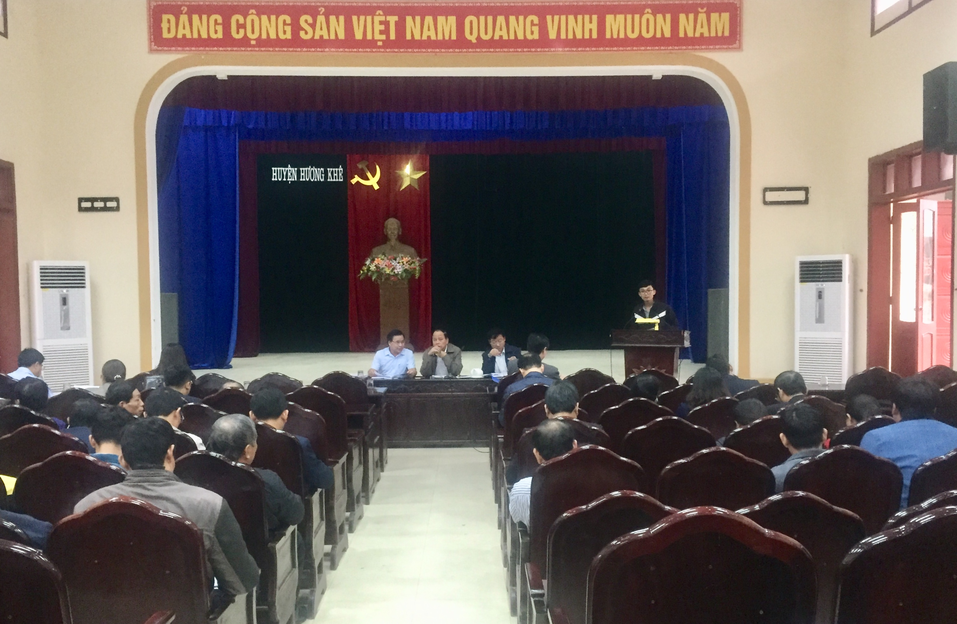 Ban chỉ đạo huyện làm việc với 04 xã phấn đấu đạt chuẩn nông thôn mới năm 2020