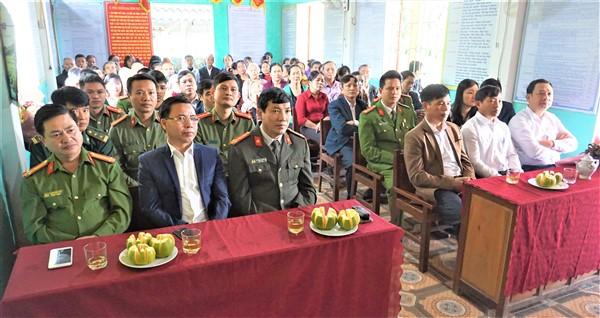 Các đại biểu tham dự ngày hội.