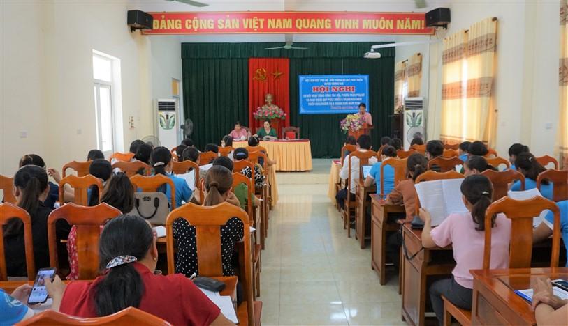 Nhiều phong trào, hoạt động ý nghĩa, thiết thực của phụ nữ Hương Khê trong 6 tháng đầu năm 2020