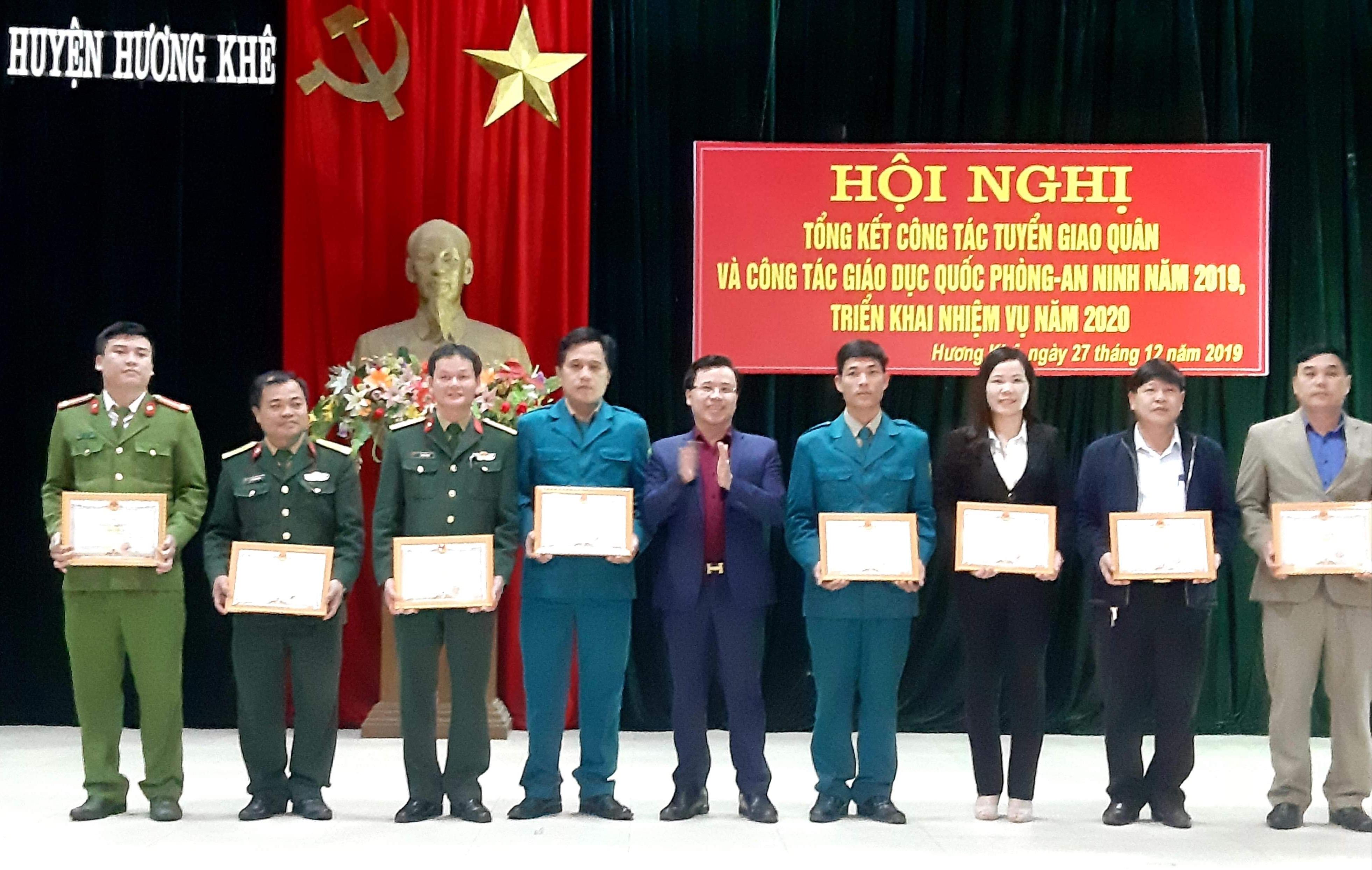Hương Khê: Triển khai nhiệm vụ công tác tuyển giao quân năm 2020