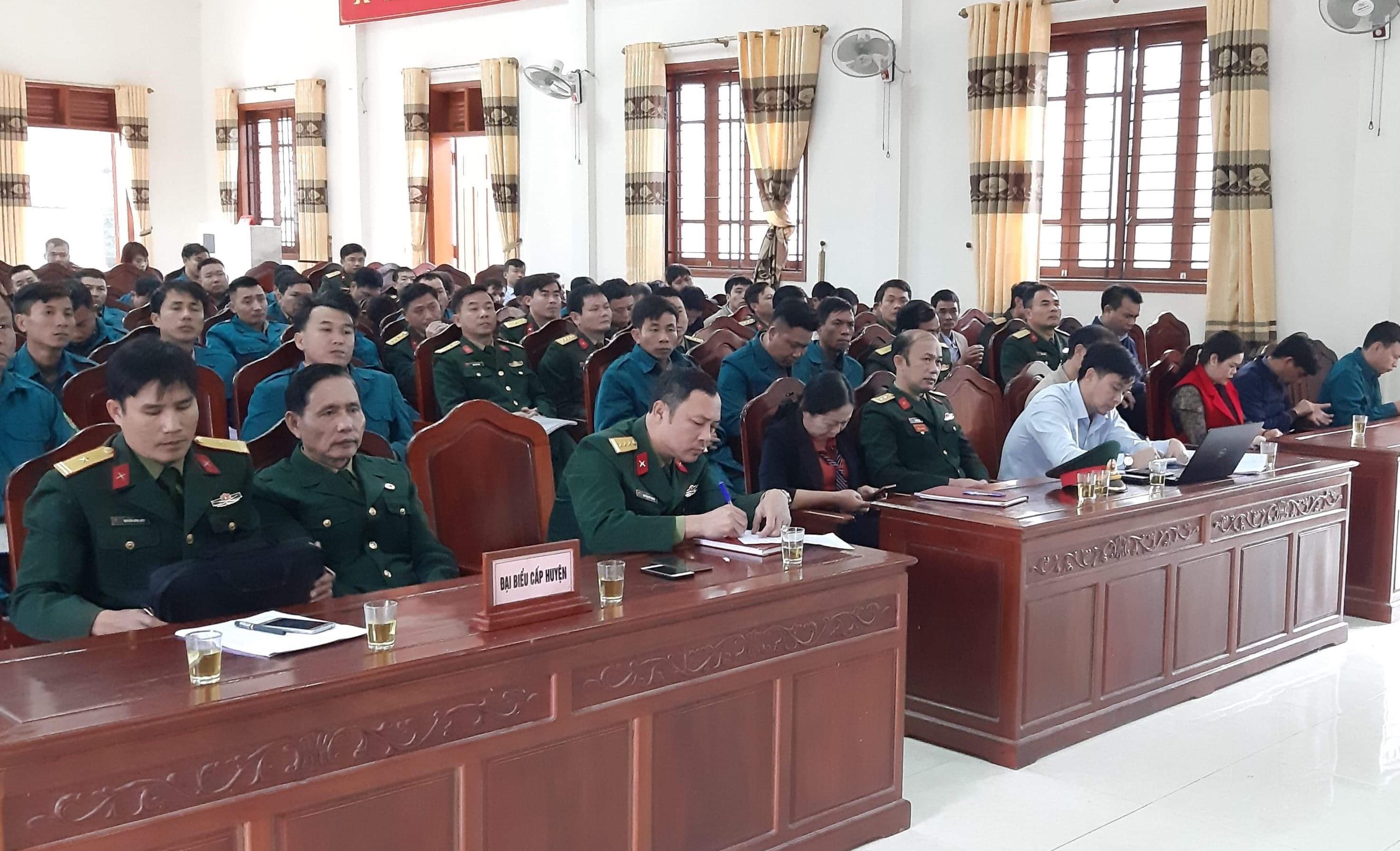 Hương Khê: Tập huấn Quân sự năm 2020.
