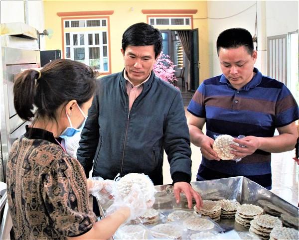 Thị trấn Hương Khê, tiếp tục xây dựng các sảm phẩm OCOP