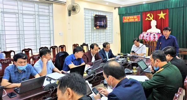 UBND huyện triển khai nhiệm vụ tháng 3 năm 2021