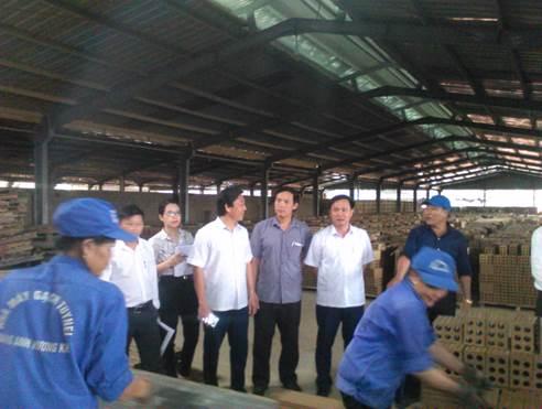 Kiểm tra Công tác an toàn vệ sinh lao động ở Hương Khê