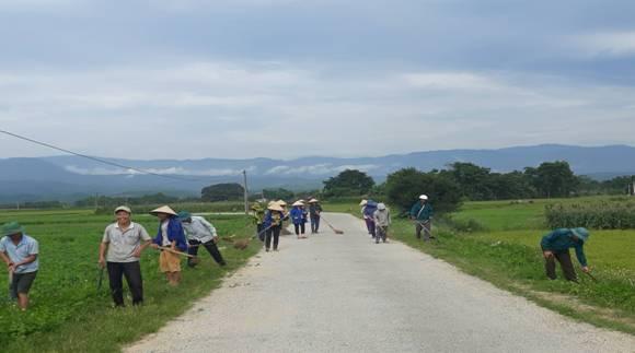 Hội Nông dân Hương Khê tham gia xây dựng Nông thôn mới