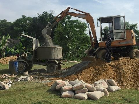 Hương Xuân: Phấn đấu hoàn thành chỉ tiêu đường bê tong năm 2018