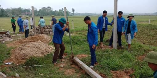 Huyện đoàn: Nhiều hoạt động thiết thực hiệu quả của tuổi trẻ tham gia xây dựng Nông thôn mới, Văn minh đô thị